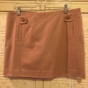 NWOT J Crew Sz 12 - XL Camel Tan Wool Skirt